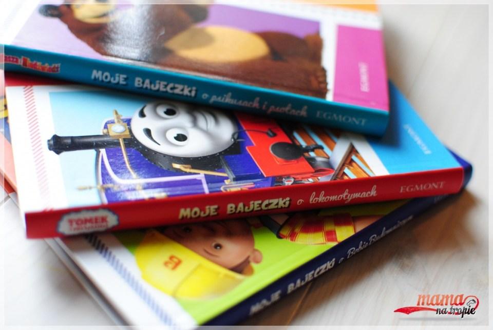 moje bajeczki, egmont, książki dla dzieci