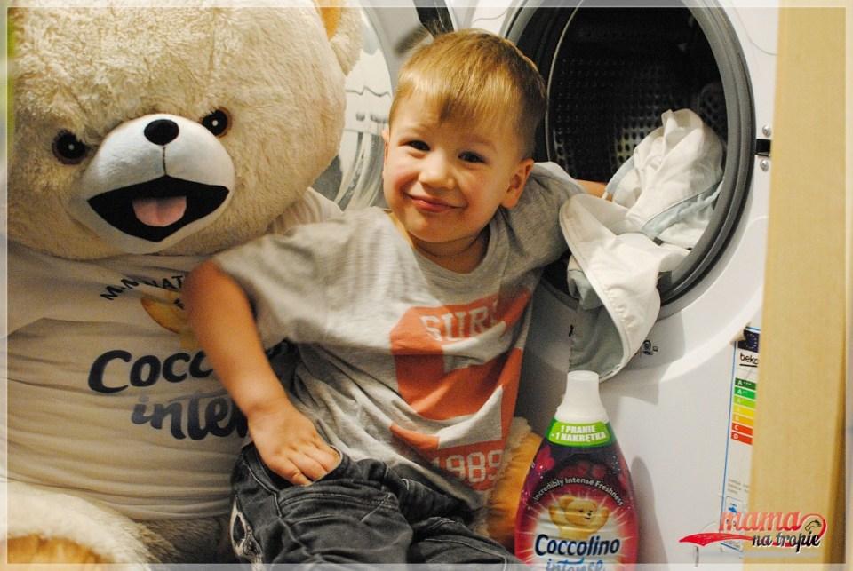 dziecko pomaga w domu, coccolino intense, coccolino inspiruje