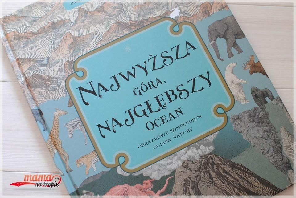 najwyższa góra najgłębszy ocean, książka dla dzieci, nasza księgarnia