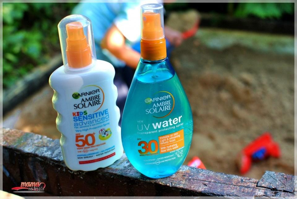 kosmetyki przeciwsłoneczne, garnier, kosmetyki do opalania, kosmetyki dla dzieci