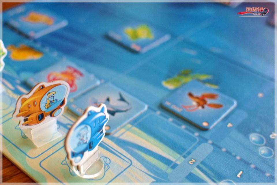 batyskaf, gra planszowa dla dzieci, gra 7+, granna