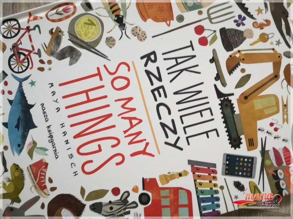 tak wiele rzeczy, książka dla dzieci, książka polsko-angielska, książka dwujęzyczna, nasza księgarnia