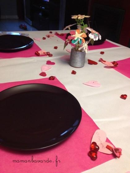 table fête des mères