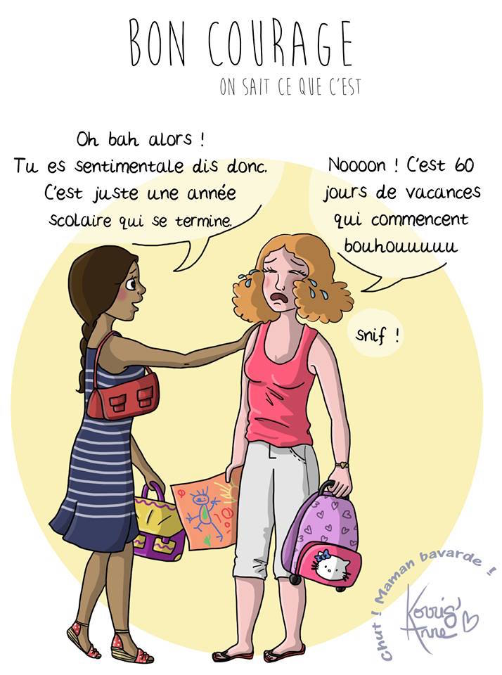 C Est Les Vacances Bordel Message Coup De Gueule Pour Les Meres Morale Cynthia Kafka