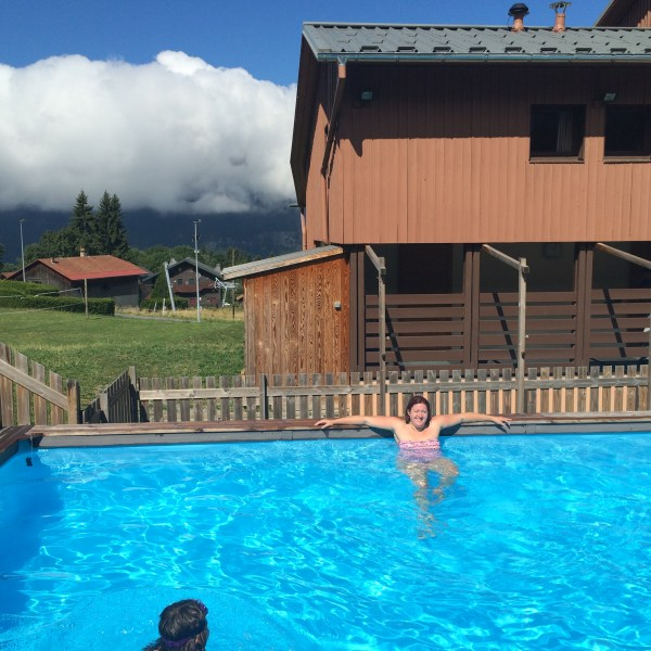 piscine vacances montagne
