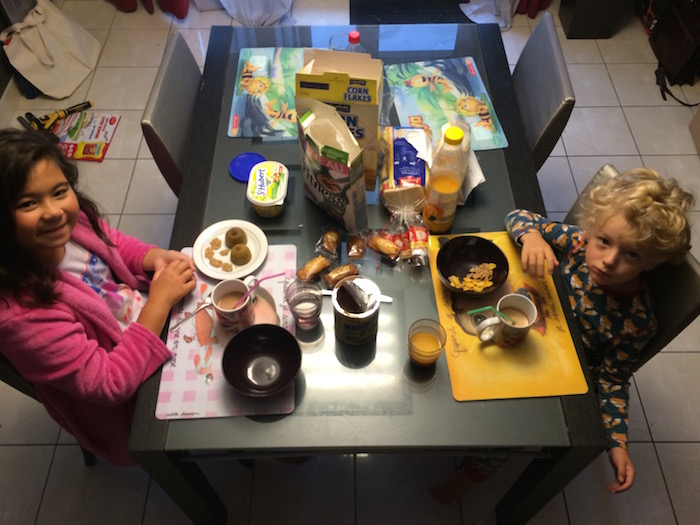 les petits déjeuners