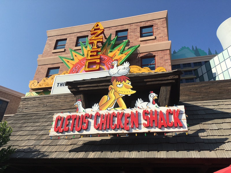 Universal studios décor