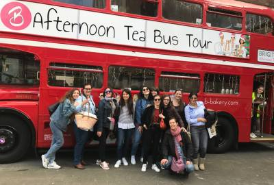 London bus tea
