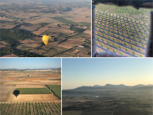 un week-end à Majorque en montgolfière