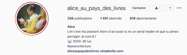 Alice au pays des livres