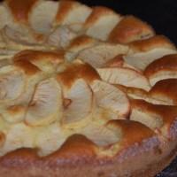 Gâteau mascarpone et pommes