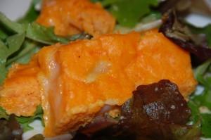 Pâté de carotte et chèvre