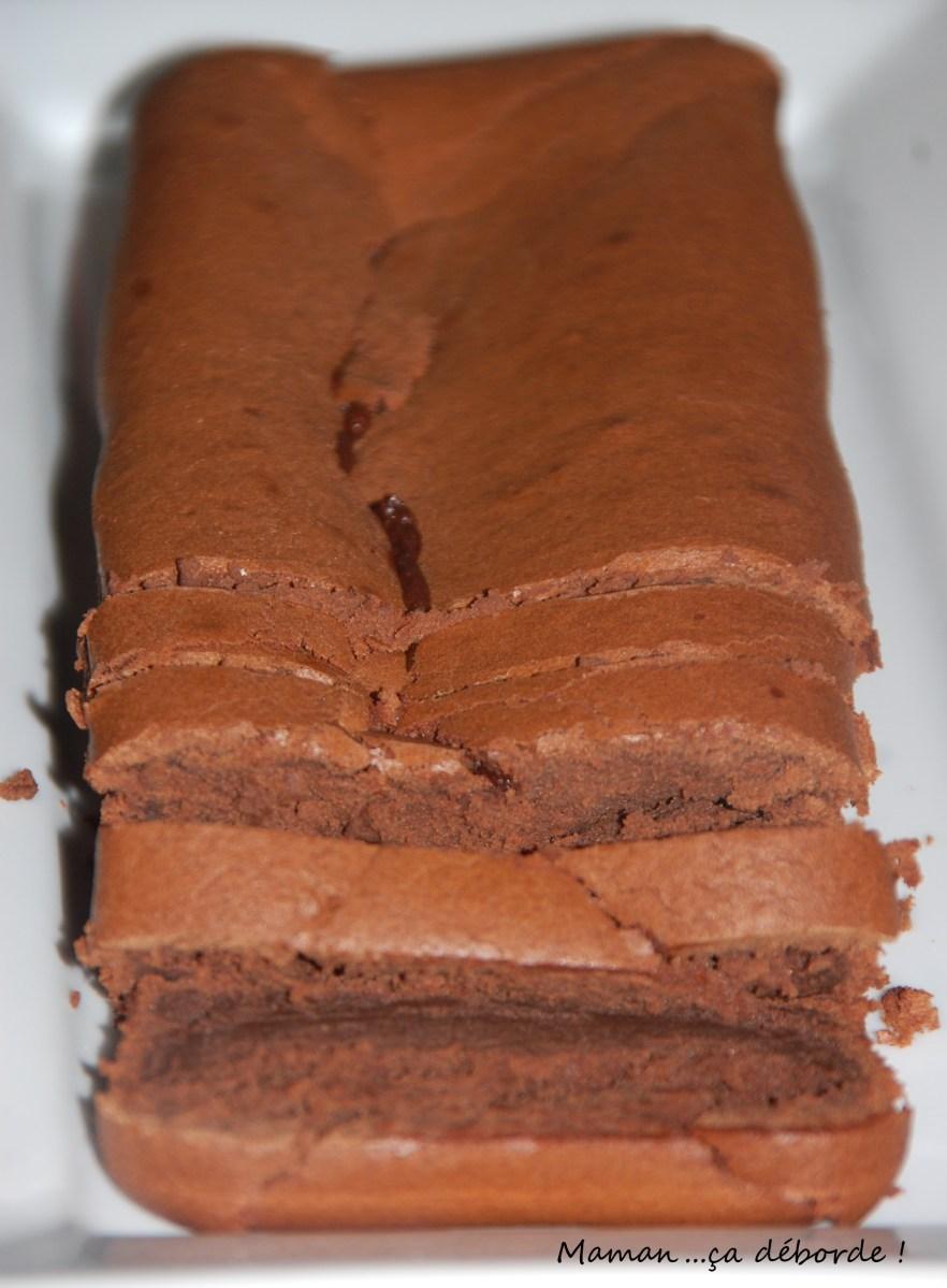 Gâteau au chocolat à la compote de pomme
