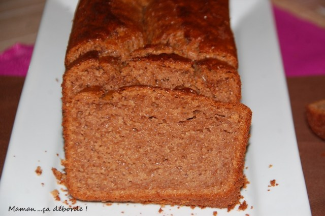 Gâteau au chocolat praliné et lait ribot