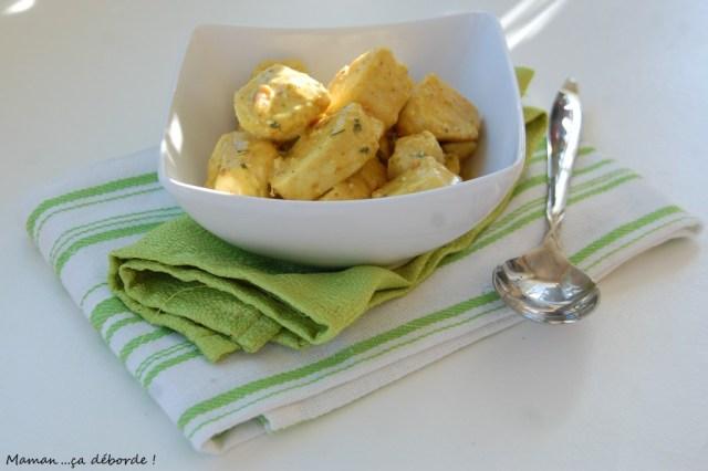Colombo de poulet au beurre de cacahuete