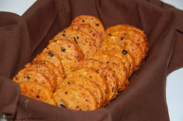 Biscuits saveur pizza