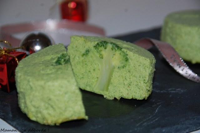 Flan de brocolis