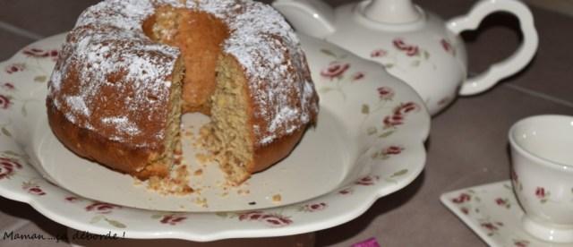 Gâteau au lait de soja et aux 4 farines1
