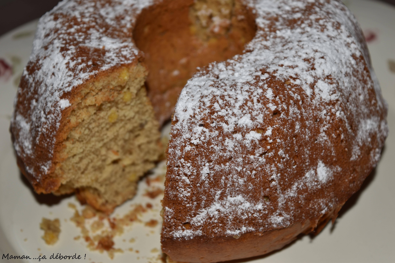 Gâteau au lait de soja et 4 farines
