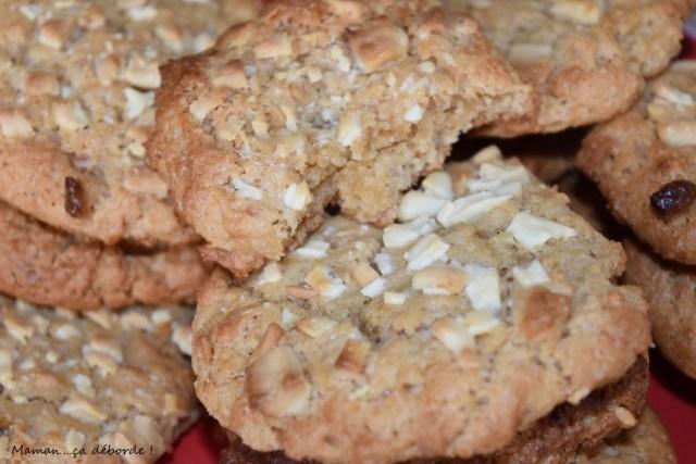 Cookies banane et beurre de cacahuètes (vegan)