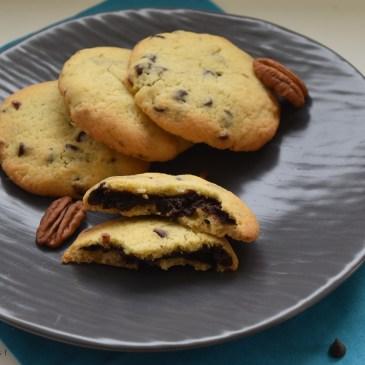 Cookies coeur chocolat