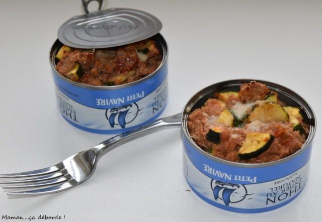 Gratin de thon en boîte