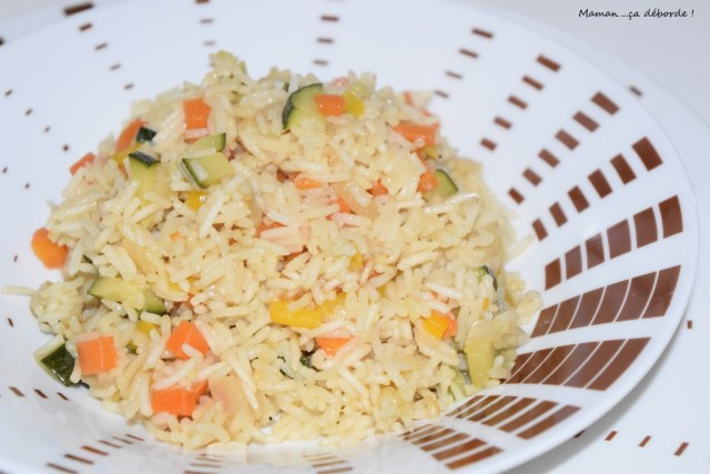 Riz aux petits légumes