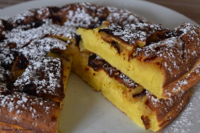 Gâteau de pommes à la poêle