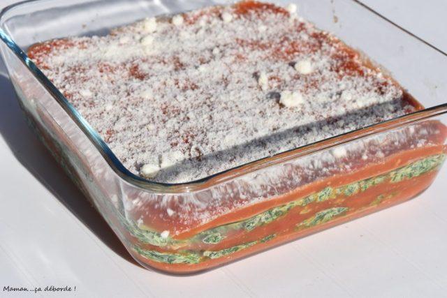 Lasagne épinard et tomate1