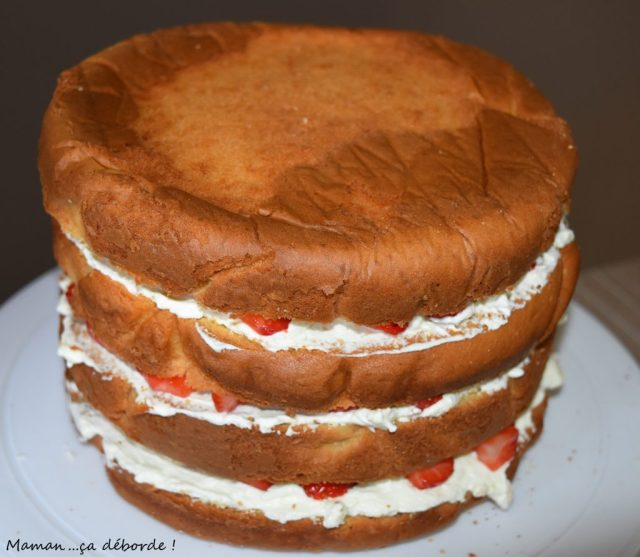 Gâteau Reine des Neiges6