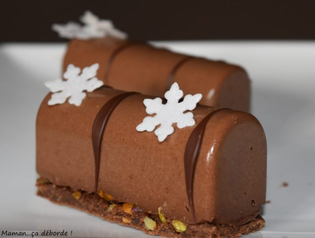 Mini buche au chocolat