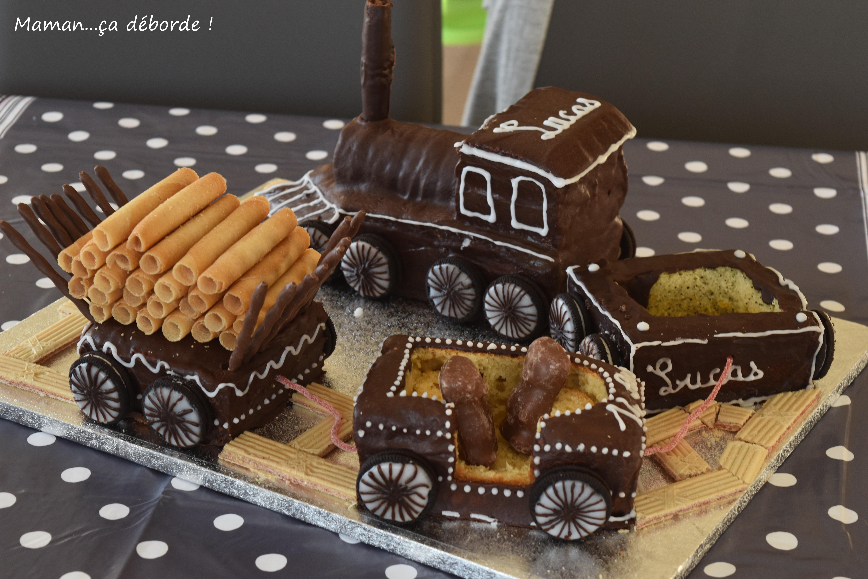 Ma locomotive : gâteau d'anniversaire en 3D