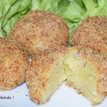 Croquettes de pomme de terre et thon (sans friture)