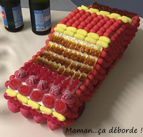Gâteau de bonbons