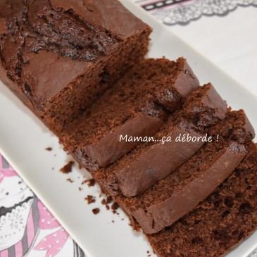 Cake au chocolat noir (léger)