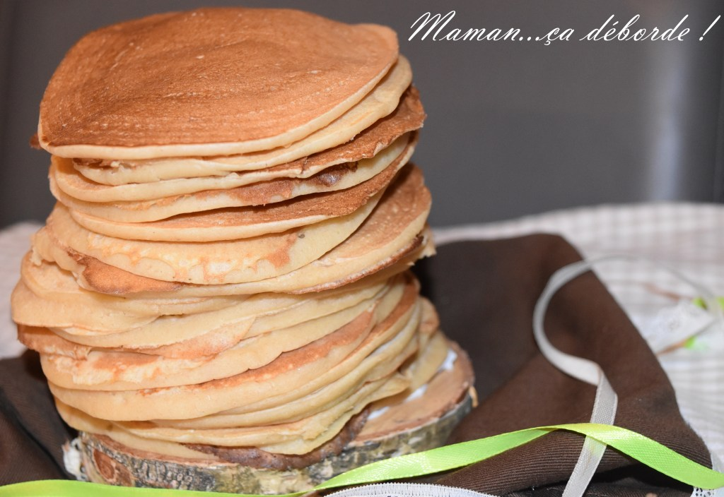 Pancake à la pomme