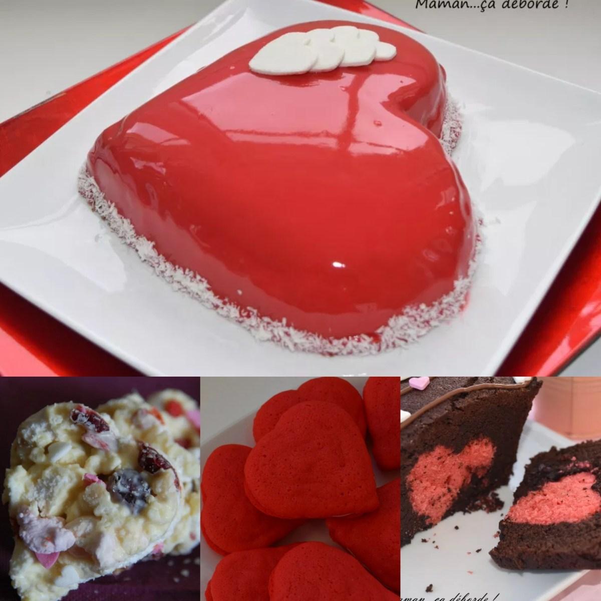 Quelques gourmandises pour la Saint Valentin