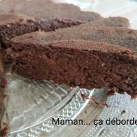 Gâteau au chocolat sans sucre ni beurre
