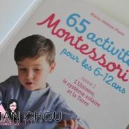 65 activités Montessori pour les 6-12ans