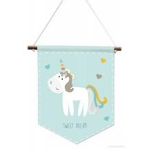 Bannière bébé licorne