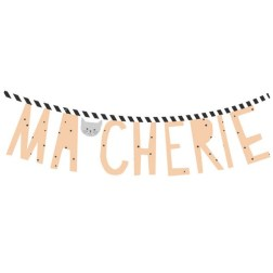 Sticker Ma chérie Rose