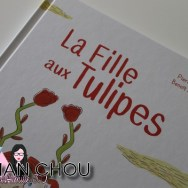 La fille aux tulipes