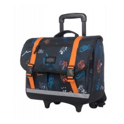 Cartable à roulettes Tropicana Navy Rip Curl