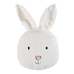 Coussin lapin blanc