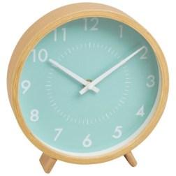 Horloge à poser vert menthe