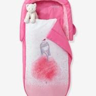 Sac de couchage Readybed® avec matelas intégré + tête de lit PRINCESSE TUTU