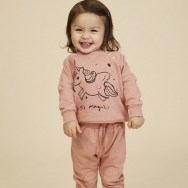Soft Gallery Sweat Licorne Alexi Rose