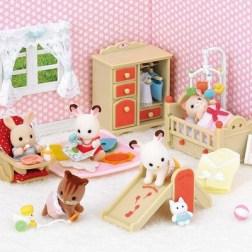 Sylvanian Families set chambre bébé