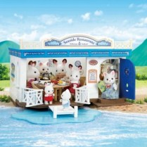 Sylvanian Families restaurant du bord de mer