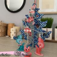Sapin de Noël Auzou Créatif